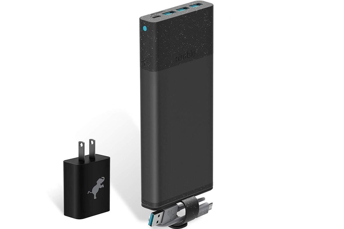 Nimble 10 Day Fast Portable Charger Review Eco Friendly And Powerful Pcworld