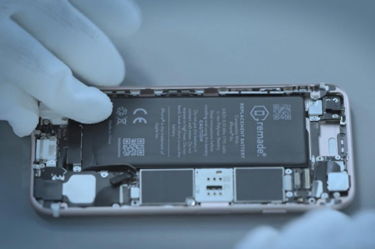 remade iphone battery