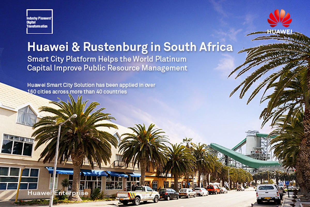 rustenburg world platinum capital deploys smart city gold mine