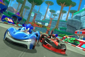 sonic racing apple arcade hero
