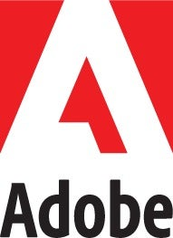 standard adobe logo   red white
