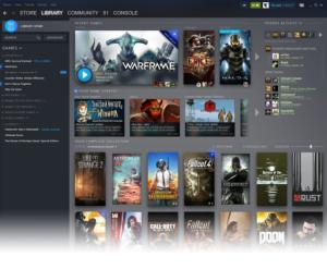 steam redesign