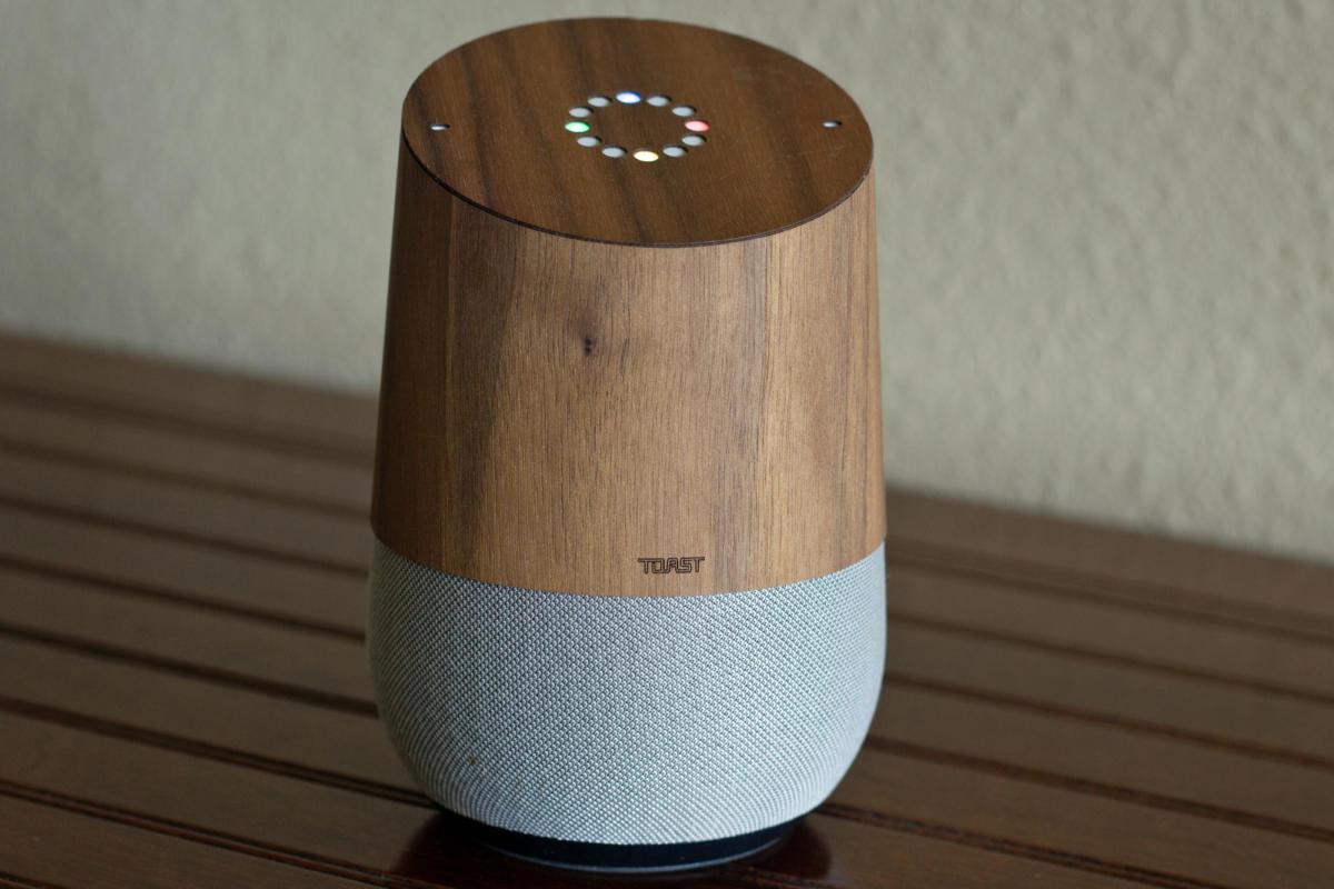 toast on google home