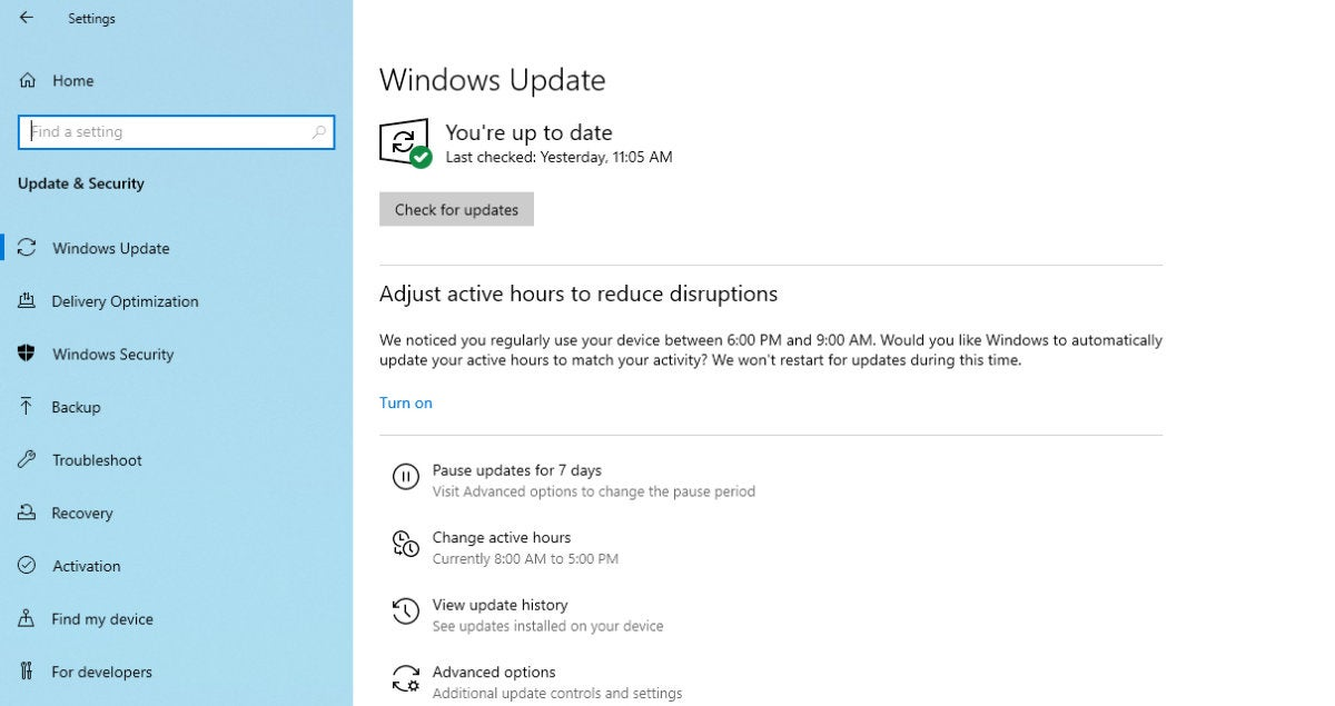 windows 10 april 2019 update  key enterprise features