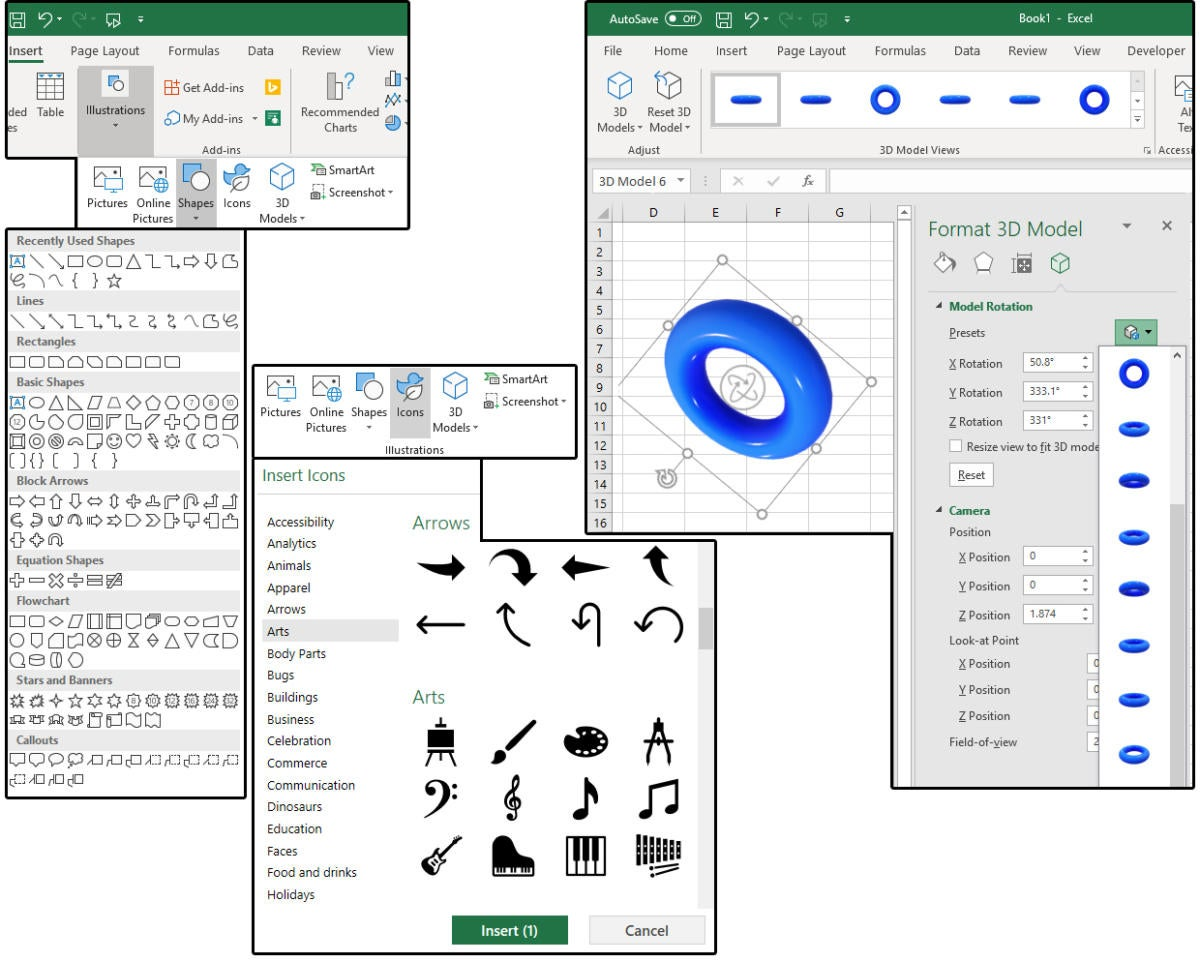 How to create, edit, and format images in Excel | PCWorld