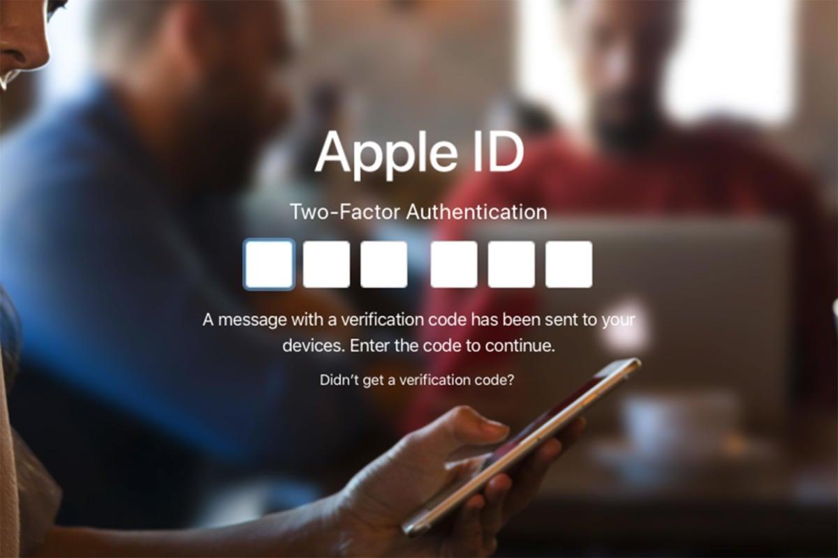 2fa apple id code