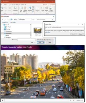 3 insert video files