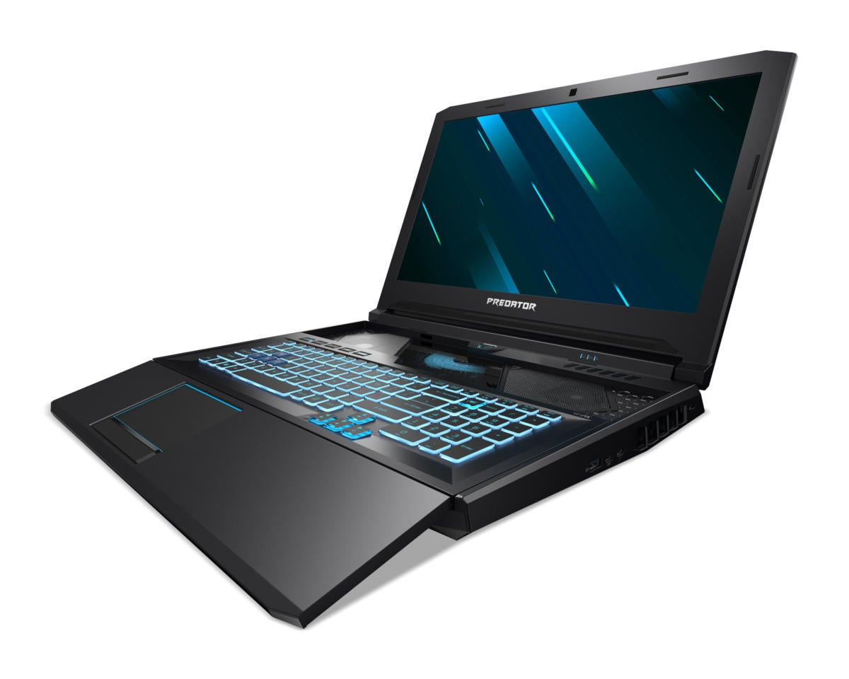 acer predator helios 700 front 3qtr left facing