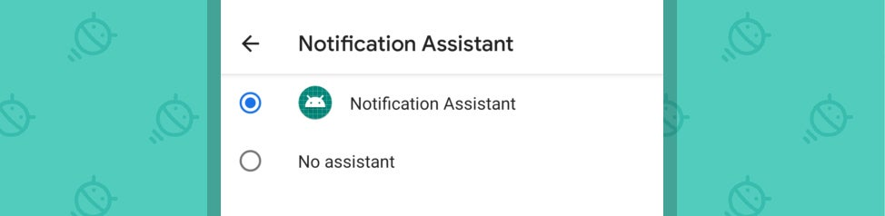 Android Notification Assistant
