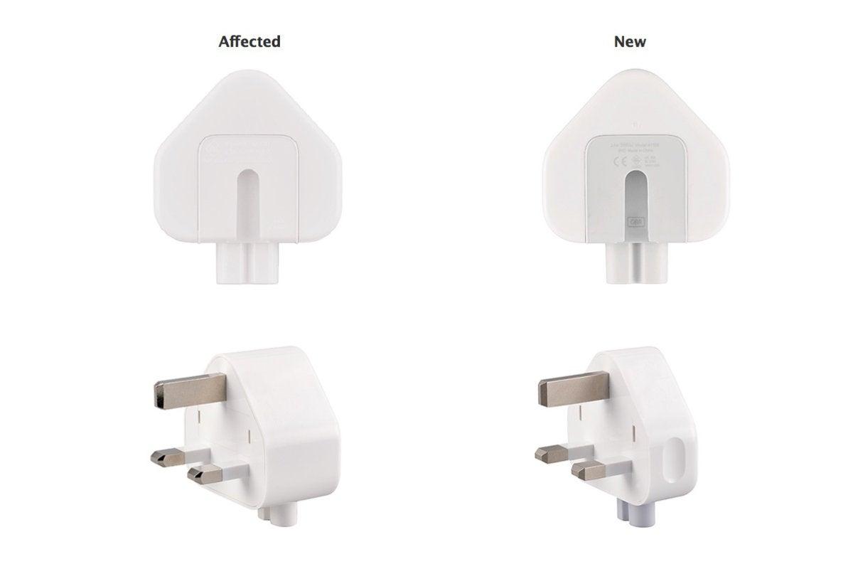 apple 3 prong recall