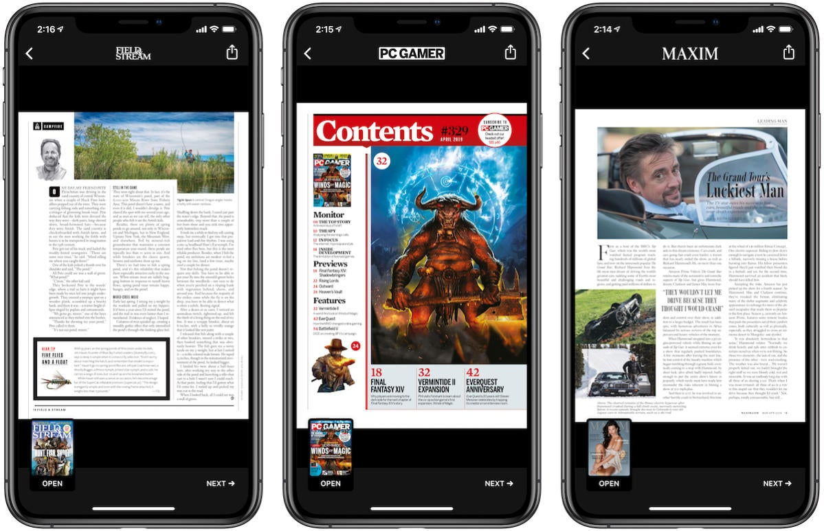 Apple News Plus PDF