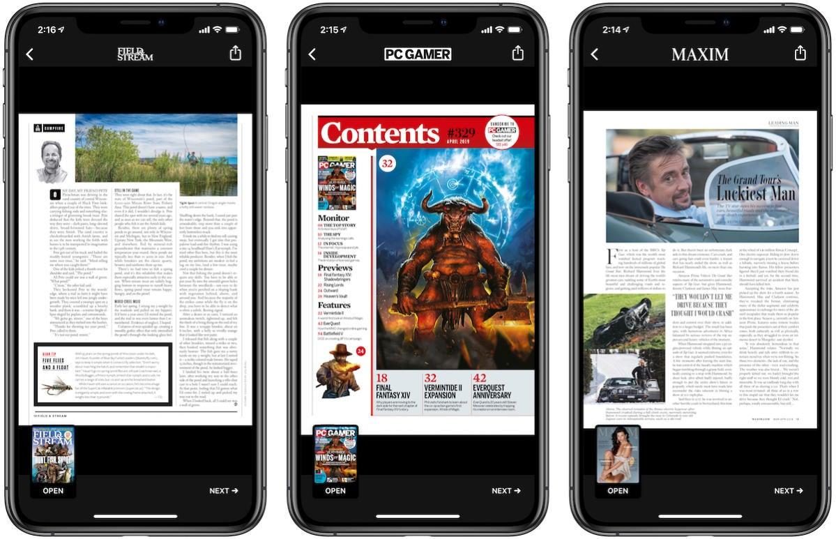 apple news plus pdfs