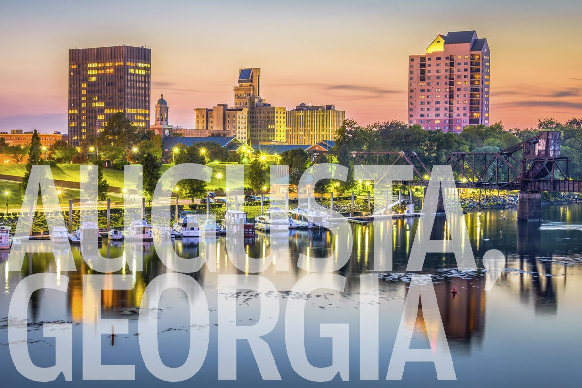 augusta georgia skyline by sean pavone