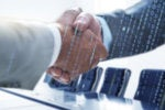building board relationships boardroom handshake