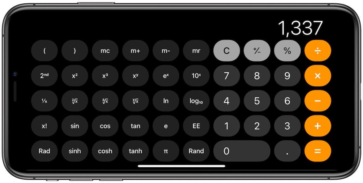 control center calculator