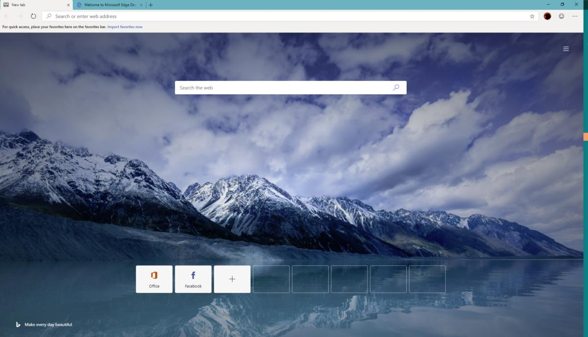 Microsoft releases alpha versions of its Microsoft Edge on