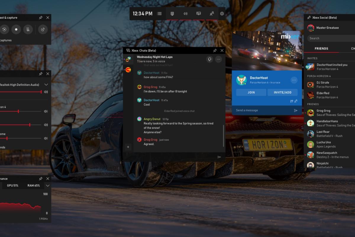 Windows 10 Game Bar - New
