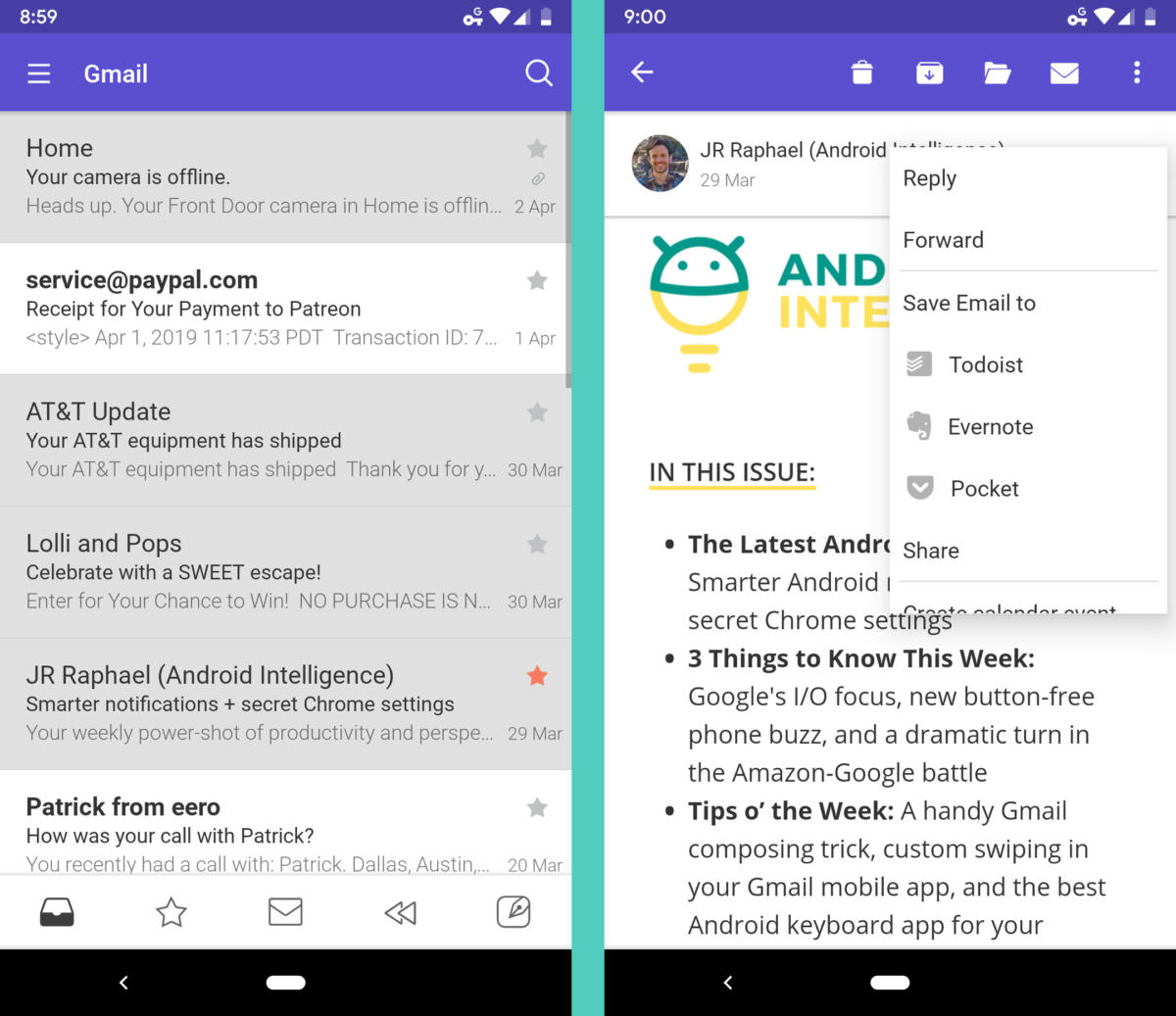 Gmail, G-meh: 4 alternative Android email apps, evaluated