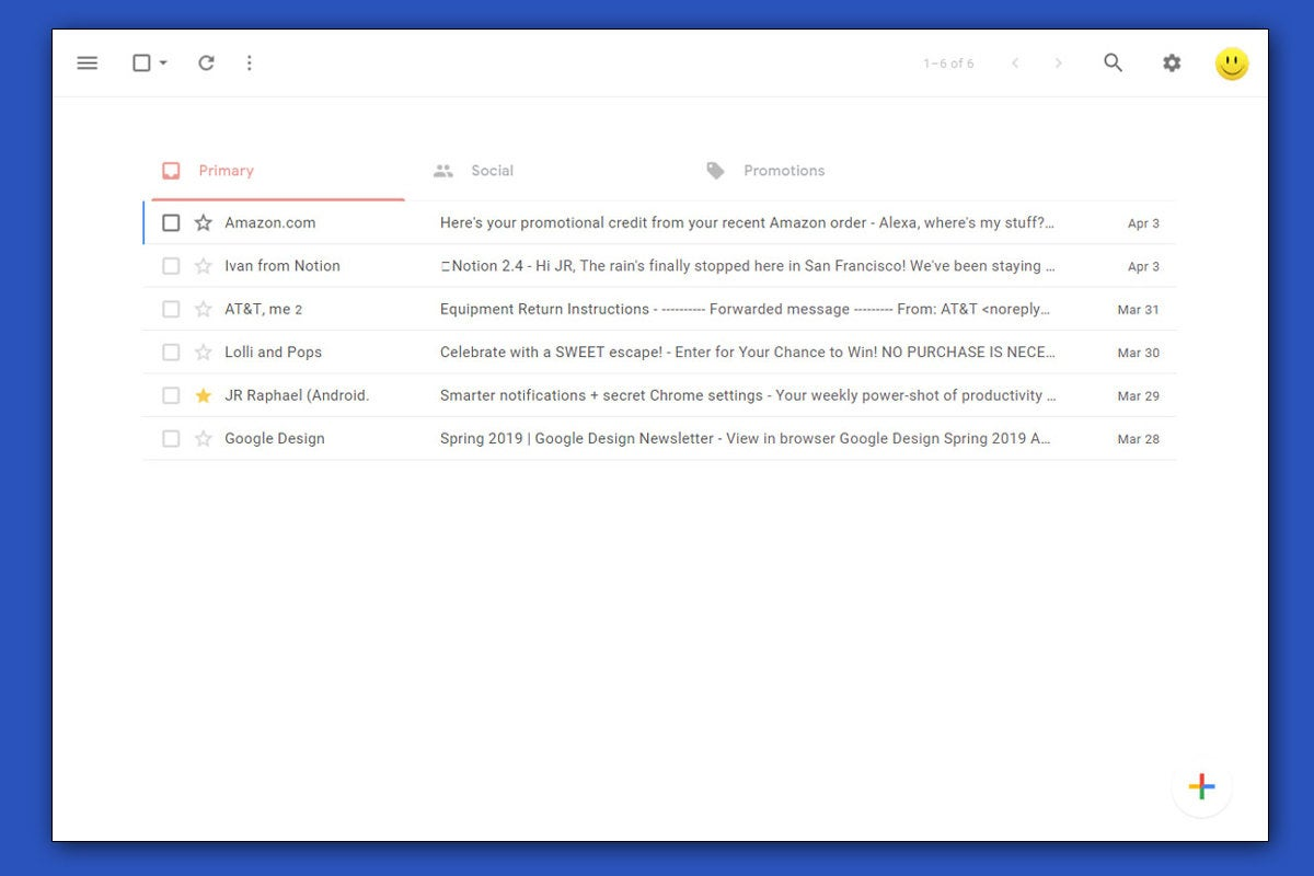 Gmail Redesigned