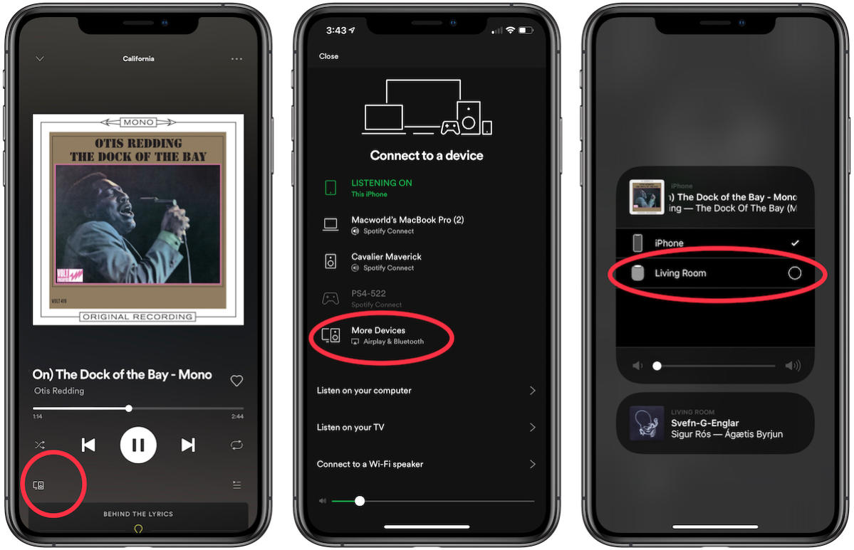 how to stream from spotify to homepod
