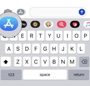 ios mesages app store icon