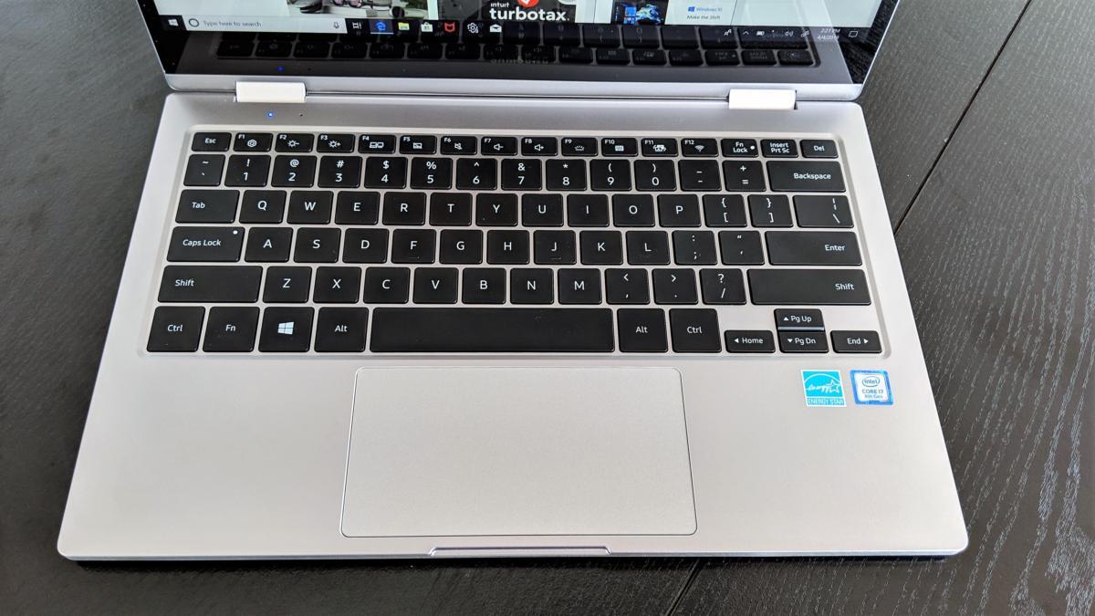 Samsung Notebook 9 Pro keyboard