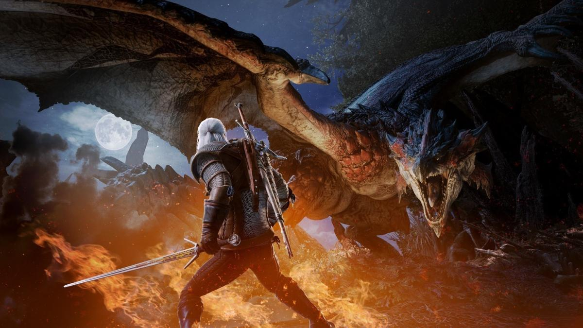 Monster Hunter World - Geralt