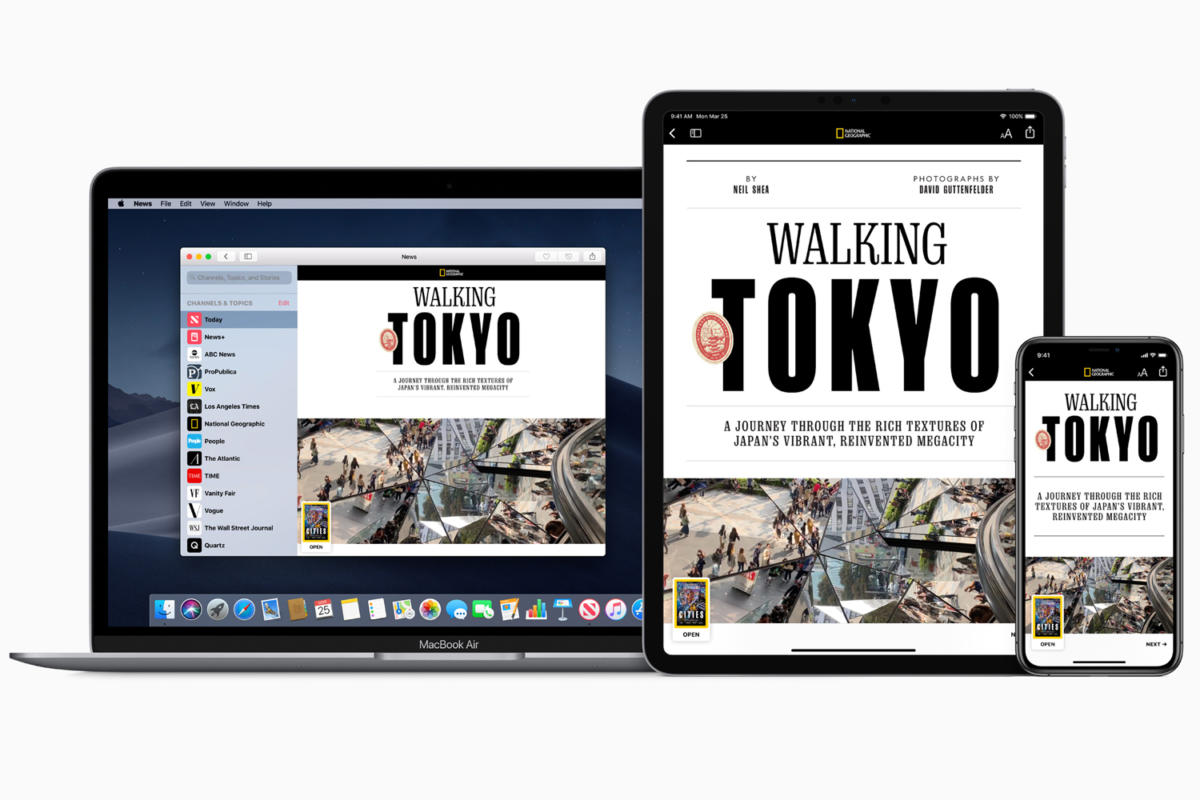 News, Voice Memos, Home, and Stocks to get a design refresh in macOS Catalina