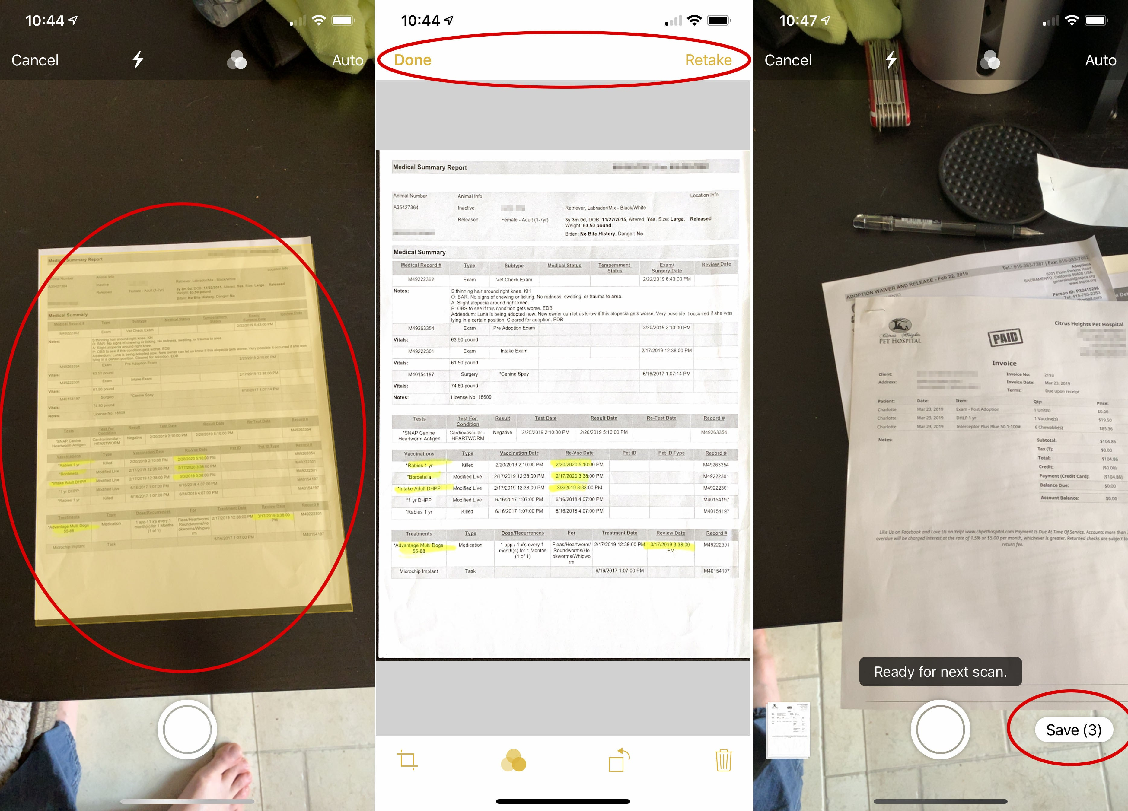 how to scan documents and make pdfs using notes on your iphone or ipad