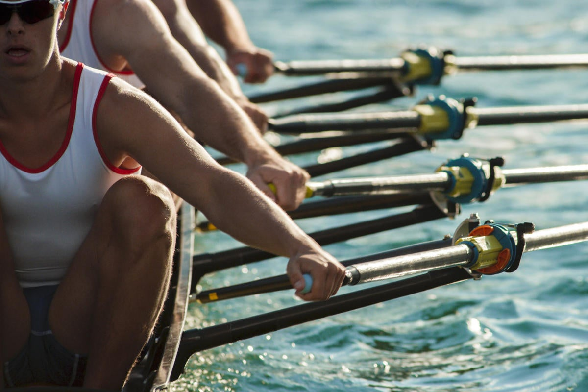 rowing team share teamwork collaboration succeed compete
