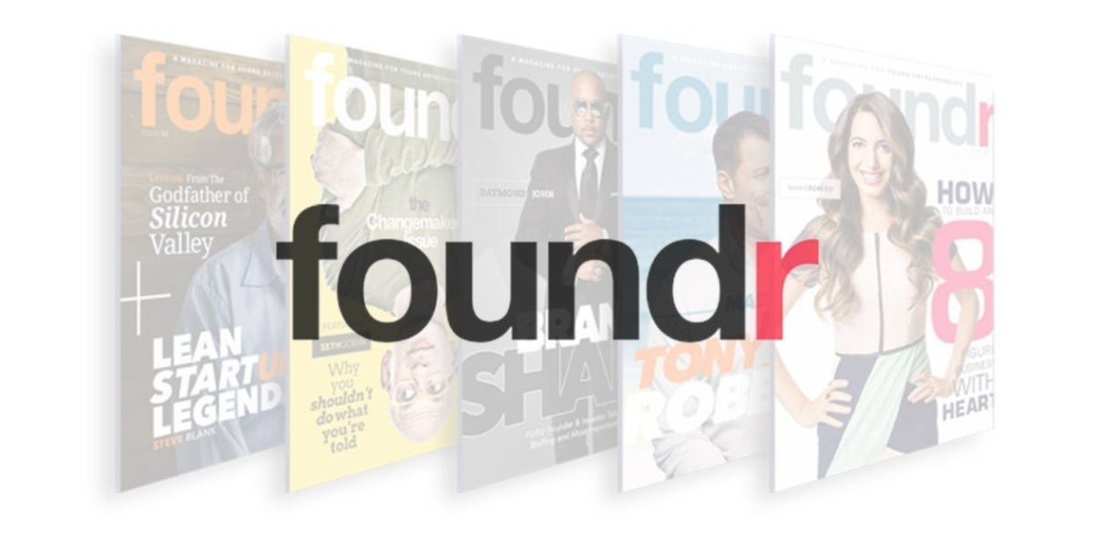 Enjoy a Lifetime Supply of Business Advice with Foundr
