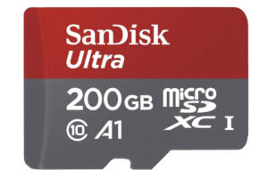sandisk 200gb sd card