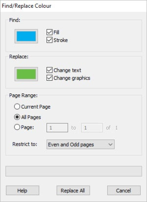 search and replace colors en