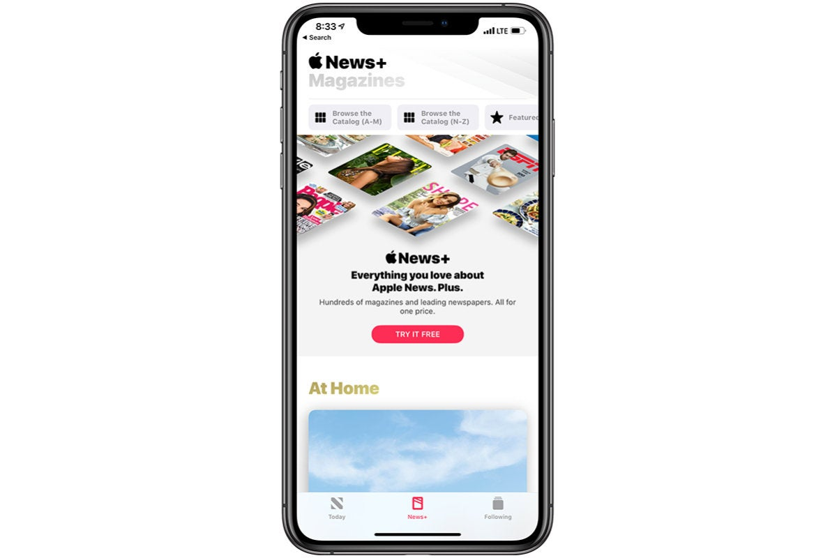 signup apple news plus