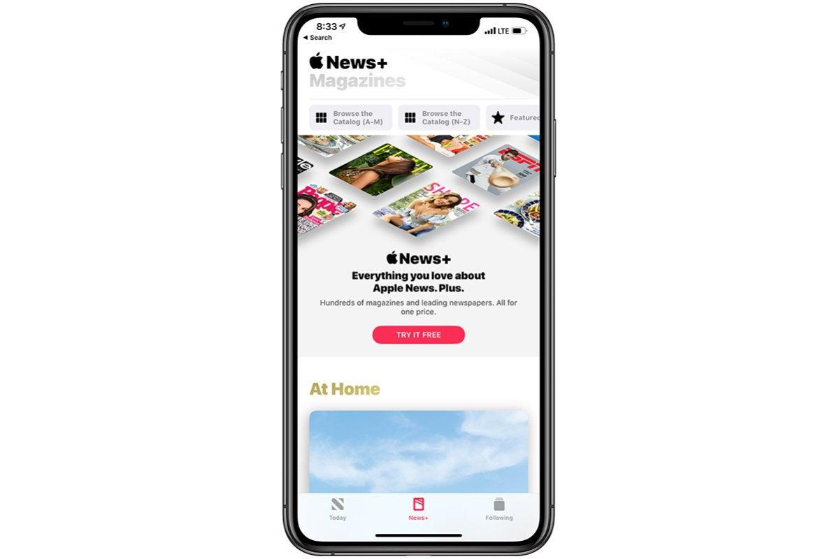 Regístrese para recibir noticias de Apple plus