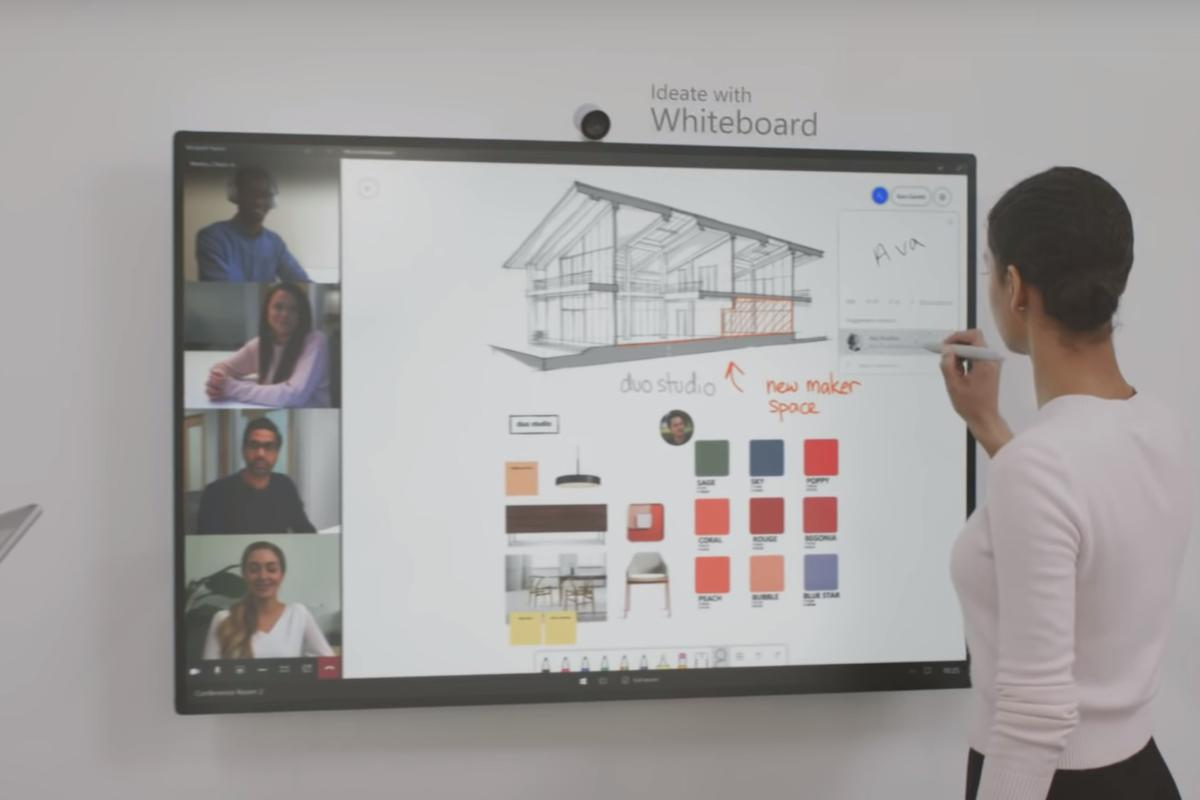 surface hub 2s vid