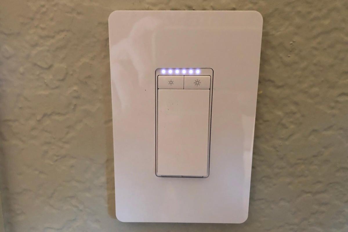 tp link smart wi fi light switch dimmer hs220 review a. Black Bedroom Furniture Sets. Home Design Ideas