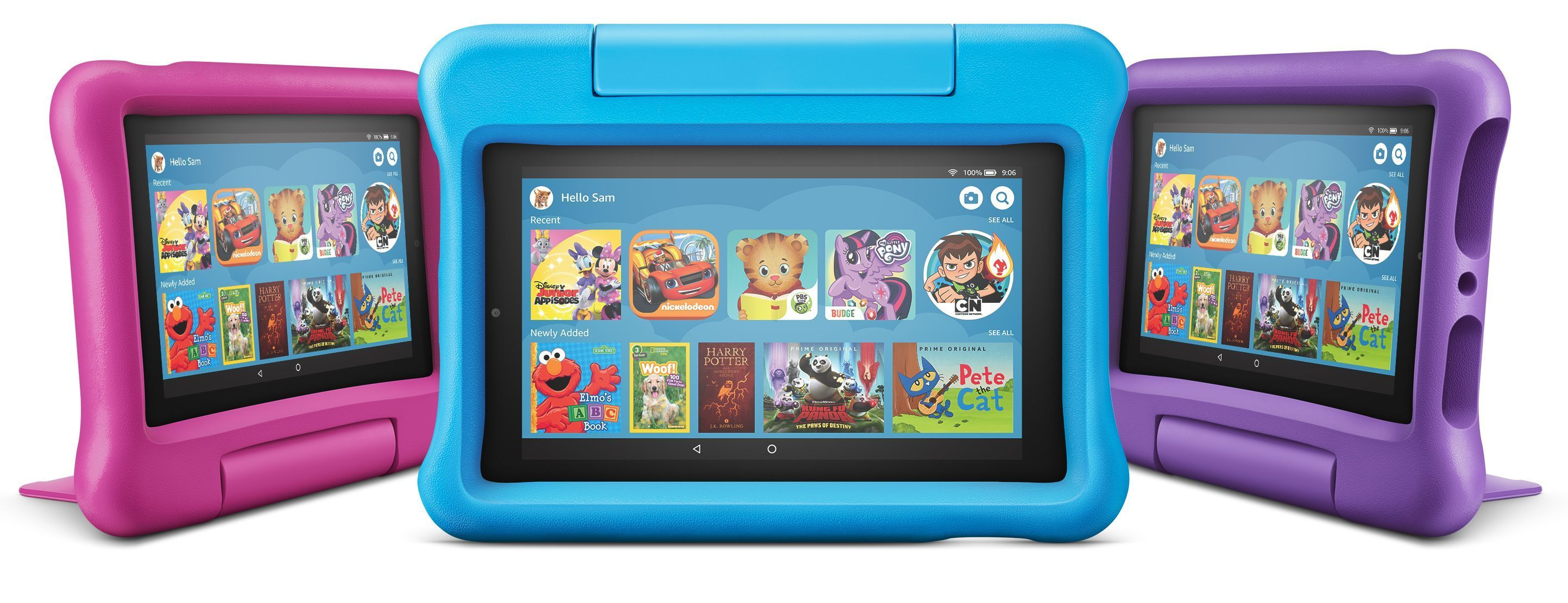 Amazon's upgraded Fire 7 and Fire 7 Kids Edition tablets