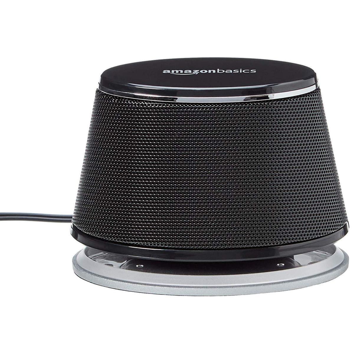 amazonbasics usb powered computer speakers single