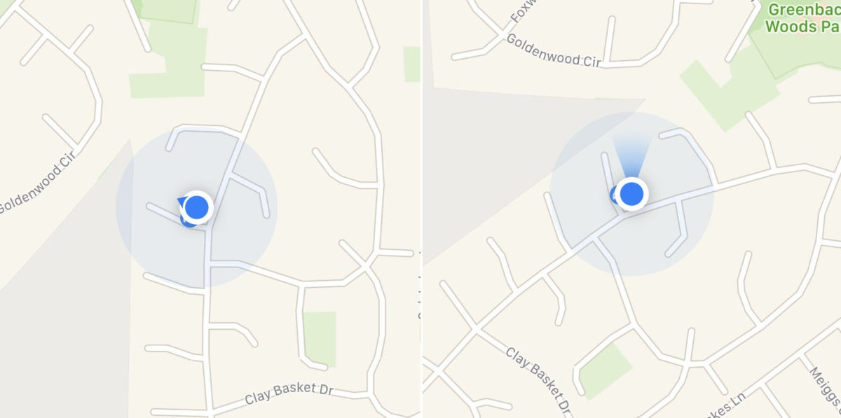 apple maps tips compass