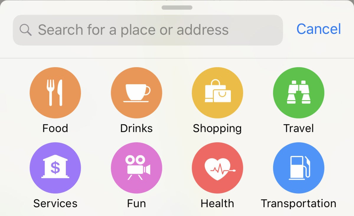 apple maps tips local