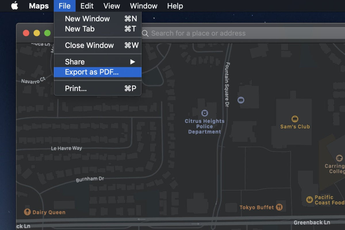 apple maps tips pdf