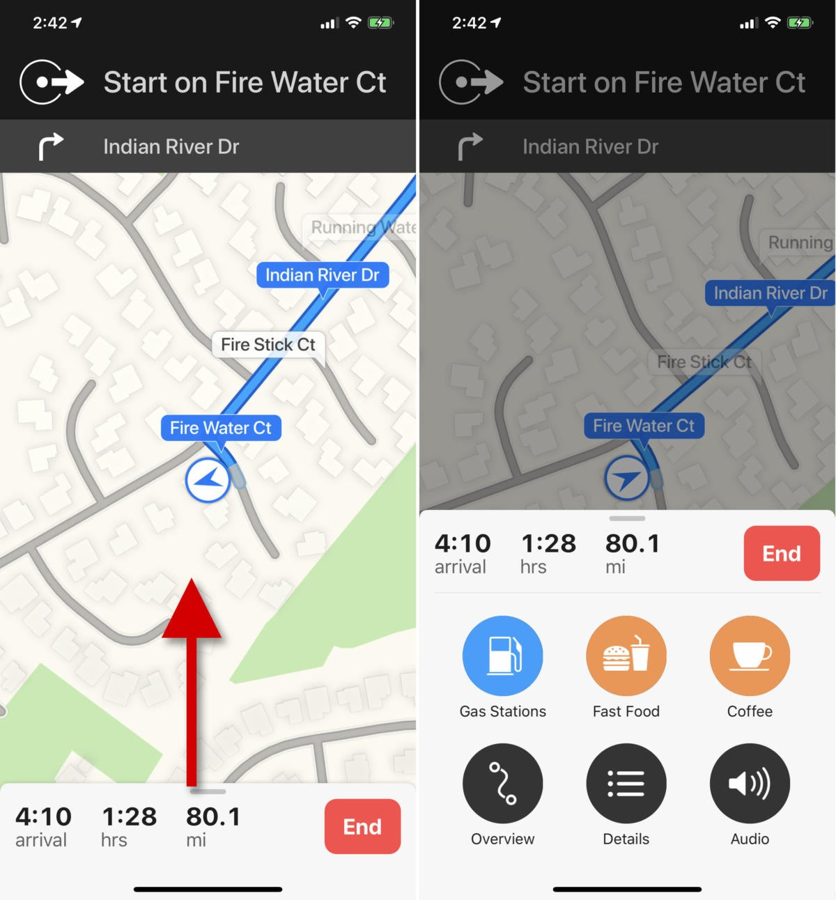 apple maps tips pitstop