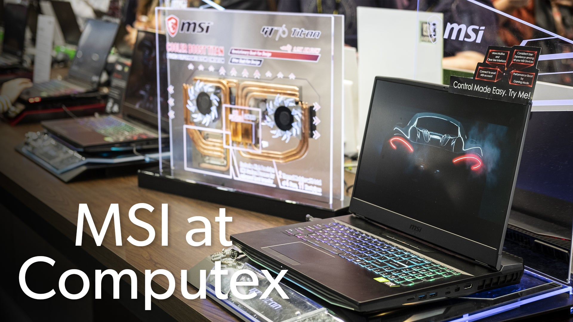 MSI GS65 Stealth Thin unboxing: First look at Intel's 9th-gen CPU