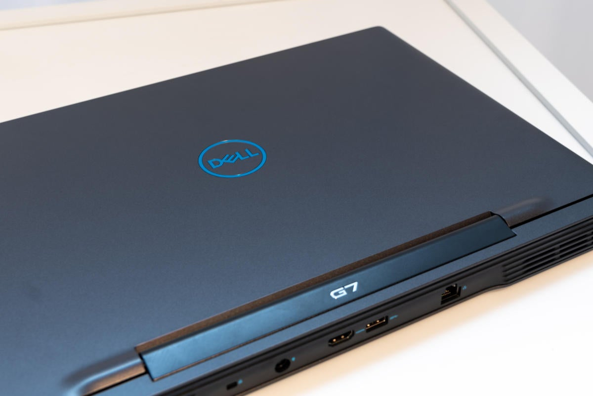 dell g7 15 lide and rear detail