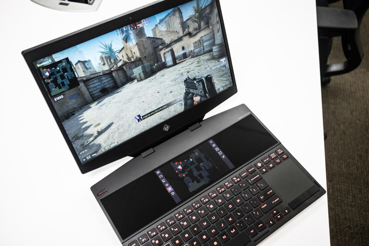 Hands on with HP's Omen X 2S 15: The world's first dual-screen