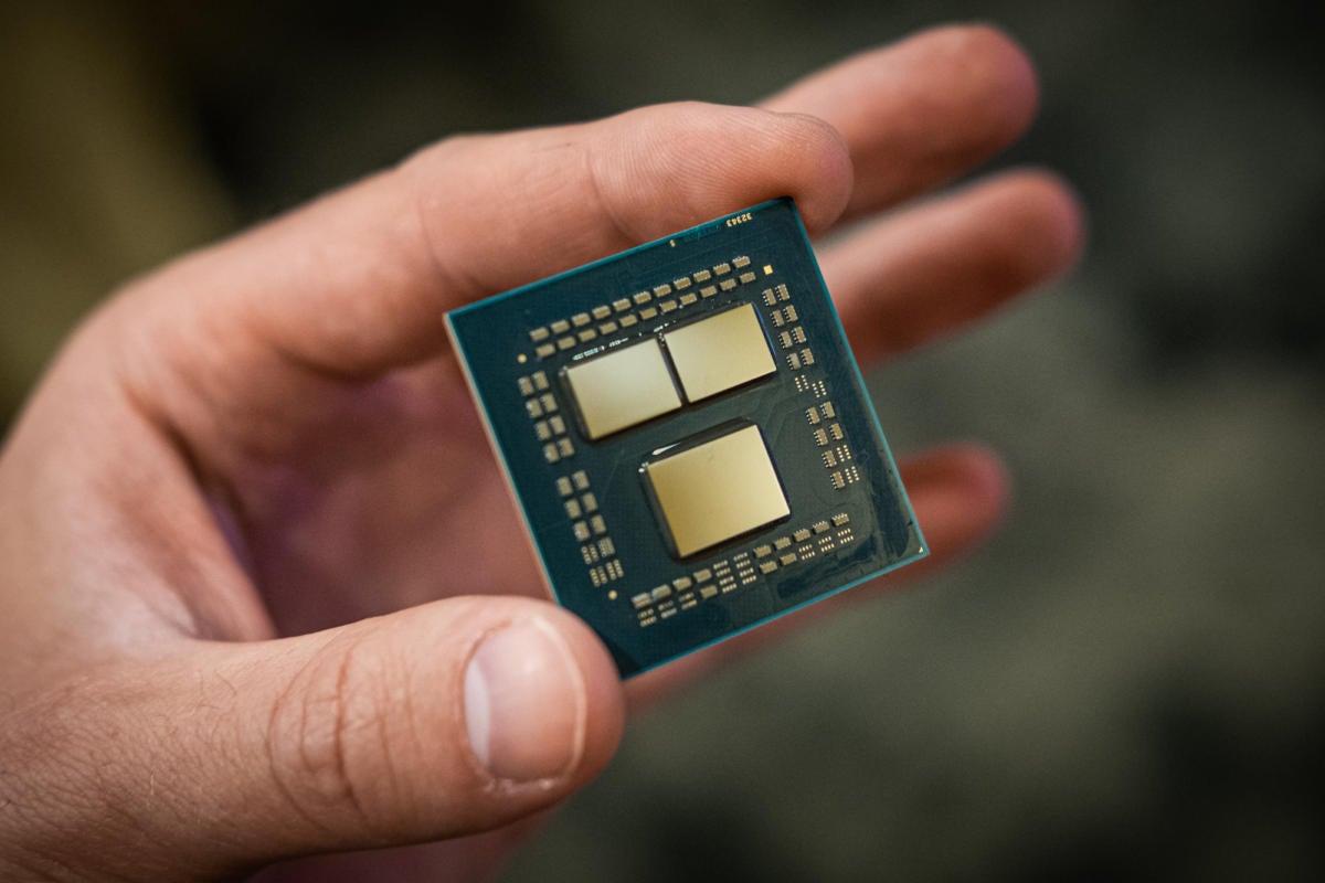 AMD 3rd Gen Ryzen chip