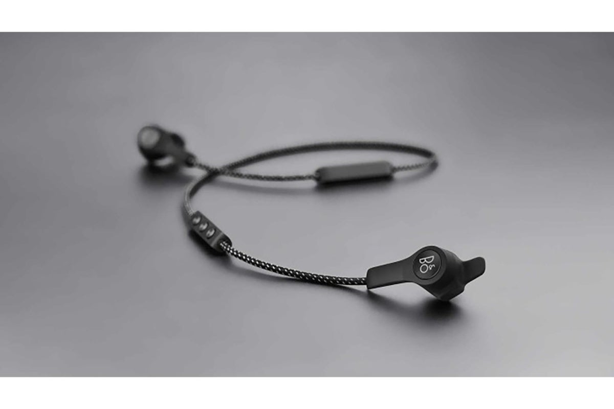 Bang and Olufsen Beoplay E6 wireless headphones.