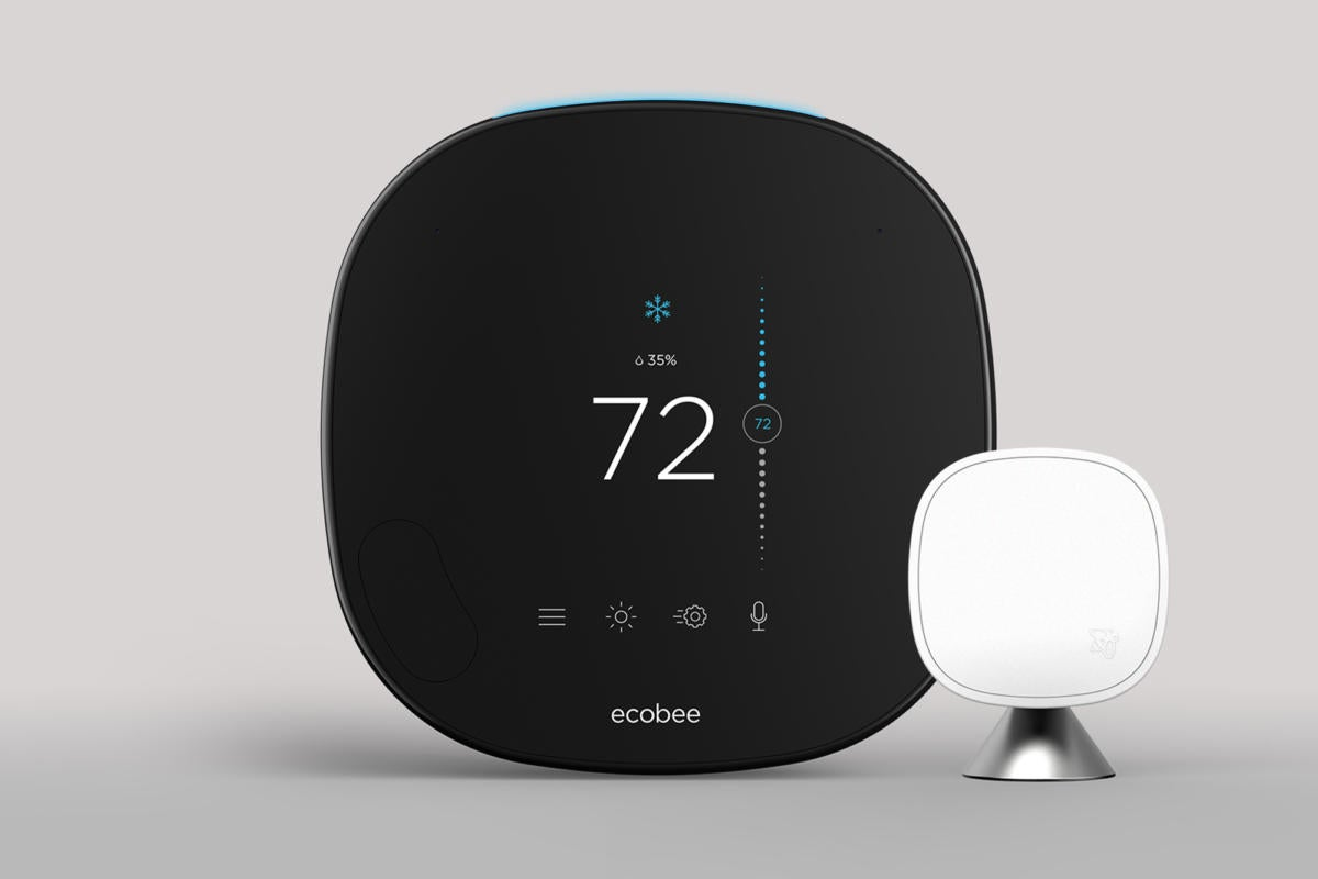 Image result for ecobee smart thermostat