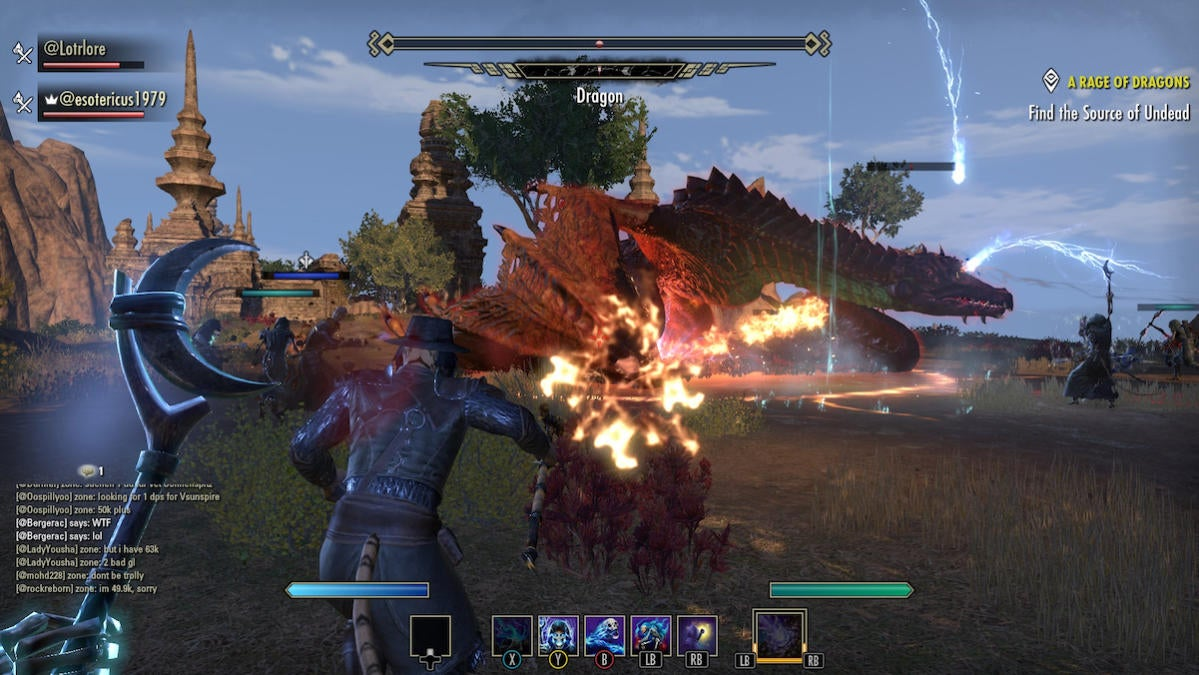 elsweyr dragon fight